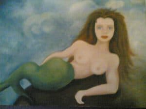 Murmermaid - Mermaid painting