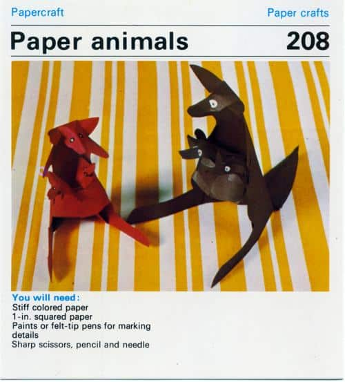 Paper Animals – Vintage Craft