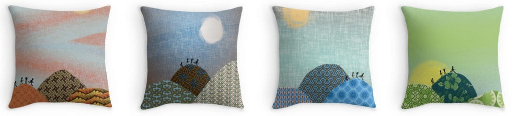 Novelty Art Cushions for Sale